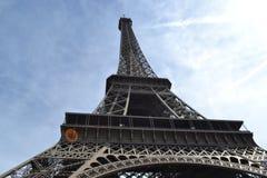 Blisko wieży eifla w Paryż Fotografia Stock