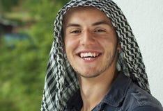 Bliskowschodni młody człowiek Obraz Royalty Free