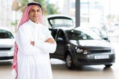 Bliskowschodni samochodowego handlowa dyrektor Obrazy Royalty Free