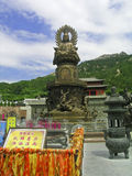 Bliss Bodhisattva Royalty Free Stock Photography