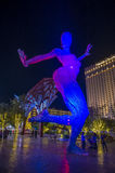 Bliss Dance Sculpture in Las Vegas Lizenzfreie Stockbilder
