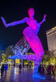 The Bliss Dance Sculpture in Las Vegas Stock Photography