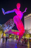 The Bliss Dance Sculpture in Las Vegas Stock Images