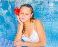 bliss relaxation spa μαύρισμα Στοκ Εικόνες