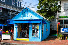 Bliss, Soft Ice Cream and Frozen Yogurt. Bliss, ice cream and frozen yogurt located on Commercial Street in Provincetown, MA Stock Image