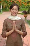blissful devotee krishna Στοκ φωτογραφία με δικαίωμα ελεύθερης χρήσης