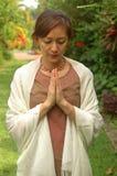blissful devotee krishna Στοκ Εικόνες
