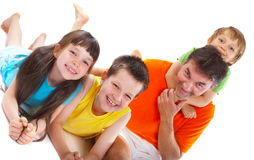 Blissful Family Stock Images