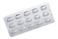 Blister dell'alluminio della medicina Immagini Stock