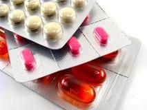 blister pack pills Στοκ φωτογραφία με δικαίωμα ελεύθερης χρήσης