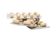 Blister Packung der Pillen Stockbild