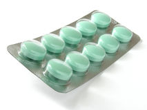 Blister with pills Stock Photos