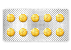 Blister pills Royalty Free Stock Photography