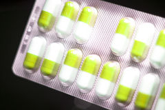 Blisterpackung medizinische pillls Stockfotografie