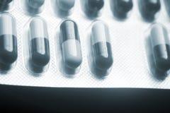 Blisterpackung medizinische pillls Lizenzfreie Stockfotografie