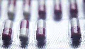 Blisterpackung medizinische pillls Lizenzfreies Stockfoto