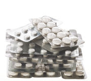 Blisters with Pills Stock Photos