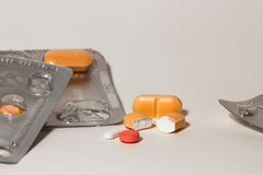 Blisters of pills Royalty Free Stock Image