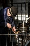Blists小山维多利亚女王时代博物馆的工程师 库存照片
