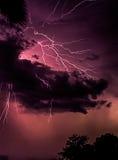 Blitz über Florida, USA Lizenzfreie Stockbilder