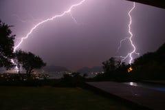 Blitz über Verdammung 7 Lizenzfreie Stockfotos