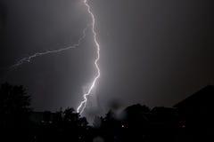 Blitz über Wien Lizenzfreie Stockfotos