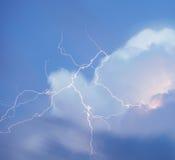 Blitz überall Lizenzfreies Stockfoto