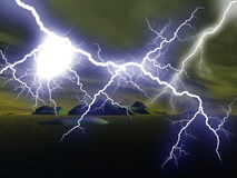 Blitz stockbild