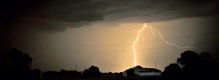 Blitz-Abbrüche Lizenzfreies Stockfoto