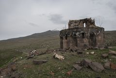 Blitz in Abovyan, Hayastan Lizenzfreie Stockfotos