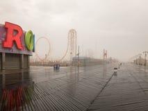Blitz-Achterbahn - Coney Island Stockbilder