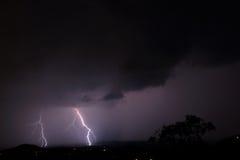 Blitz auf dem Horizont Lizenzfreie Stockfotos