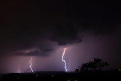 Blitz auf dem Horizont Lizenzfreie Stockfotografie
