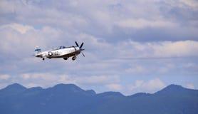 Blitz der Republik-P-47D im Flug Stockbild