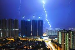 Blitz der Stadt Lizenzfreie Stockfotos