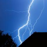 Blitz in der Stadt Stockfotografie
