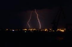 Blitz in der Stadt Lizenzfreie Stockbilder