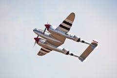 Blitz der Weinlese-P-38 Stockfotos