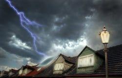 Blitz-Energie Stockbilder