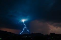 Blitz-Gewitter Lizenzfreies Stockbild