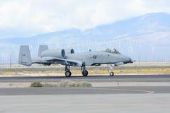 A-10 Blitz II auf Anzeige Stockbild