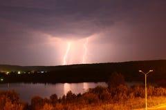 Blitz im Boden Lizenzfreie Stockfotos