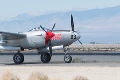Blitz Lockheeds P-38 Stockfotografie