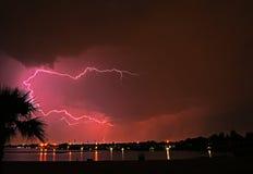 Blitz mittleres summber Lizenzfreie Stockfotografie