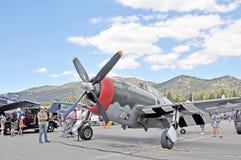 Blitz P-47 Stockfotografie