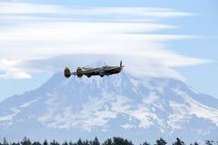 Blitz P-38 Stockbilder