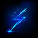Blitz-Schraube Lizenzfreies Stockfoto
