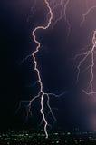 Blitz-Schrauben-Schlag Stockbilder