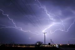 Blitz Stirke Wolke Lizenzfreies Stockfoto