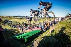 2013 Blitz to the Barrel - Aaron Bradford Royalty Free Stock Photos